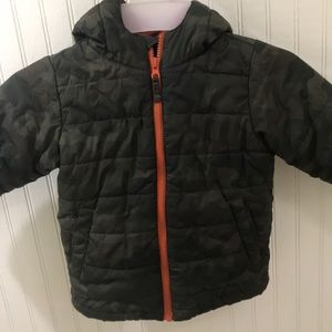 3T Boys Camouflage Puffer Jacket Childrens Place